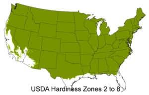 Grow Zones 2 - 8