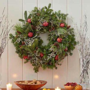 White Flower Farm Wreaths